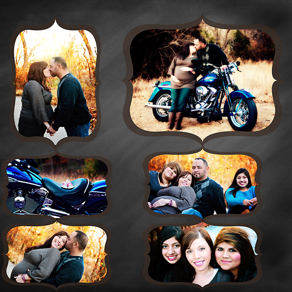 Harley Davidson Collage Christy Persichini Photography