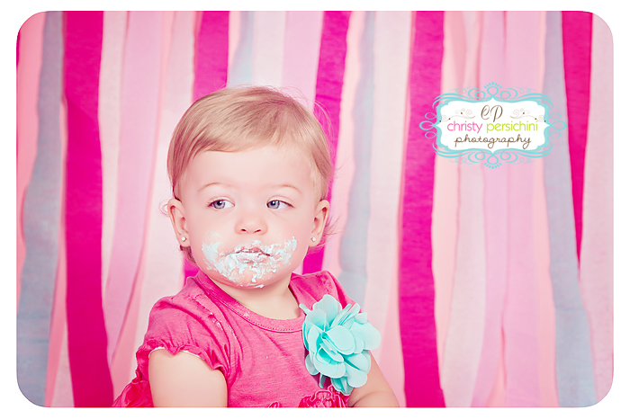 Frisco Cake Smash Christy Persichini Photography