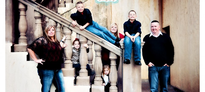 The Smith Family – party of 7!