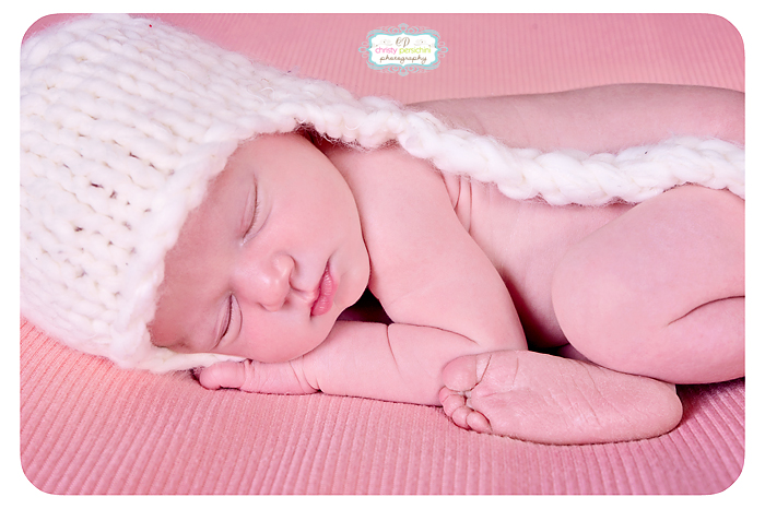 Sleeping Newborn Christy Persichini Photography
