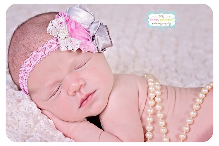 Newborn Pearls Christy Persichini Photography