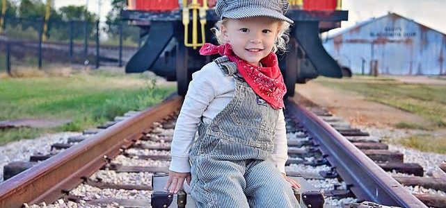 Train Track Photo Session